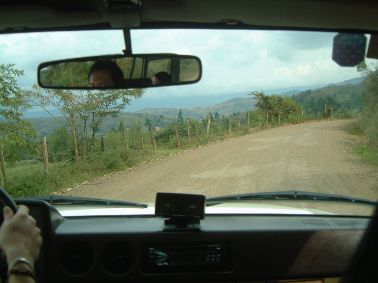 The road to Raquira