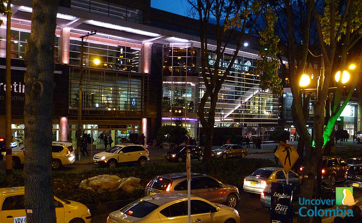 Bogota, Zona Rosa at night