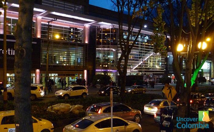 Bogota, Zona Rosa at night