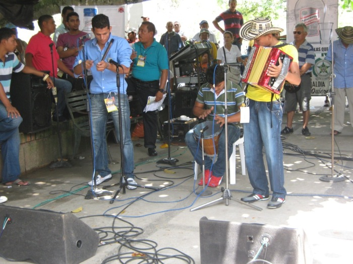 Accordion festival at Chinu - Colombia. Copyright Uncover Colombia
