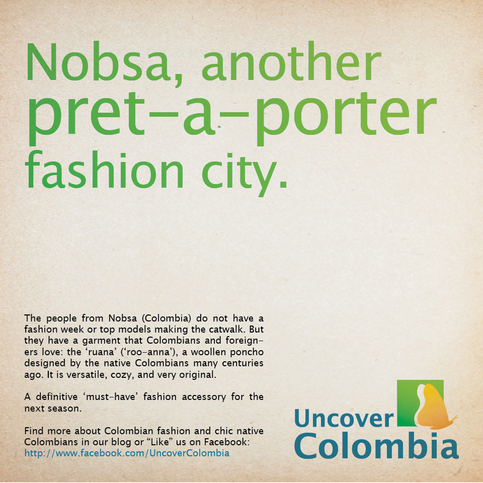 Nobsa - another Pret-a-porter fashion city - Uncover Colombia