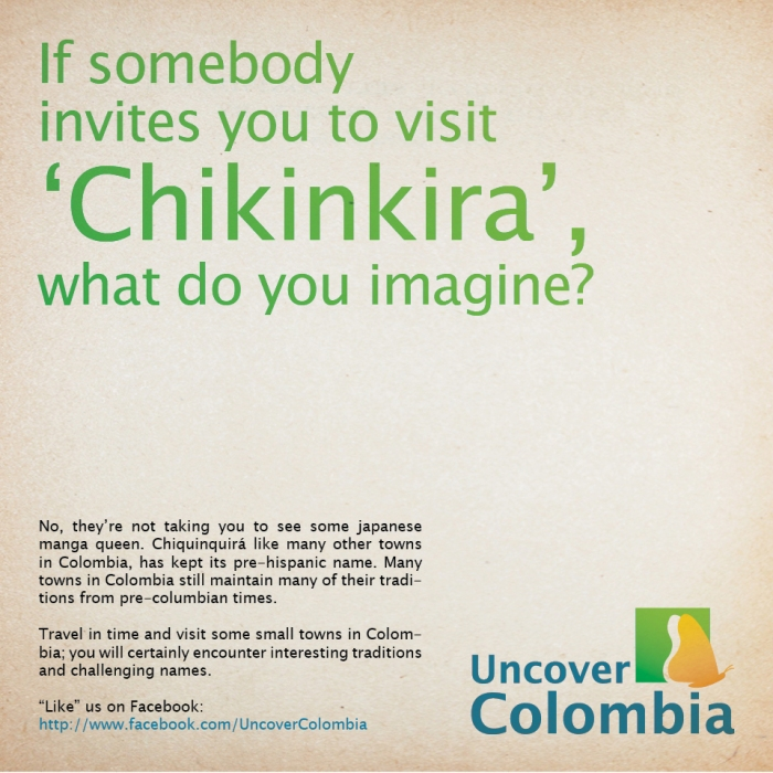 Chikinkira - Uncover Colombia