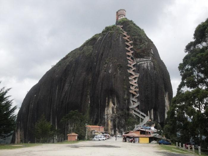 """La piedra"" - Colombia. Image copyright Ariel Dombroski"