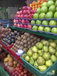 Fruits at street market - Bogota, Colombia