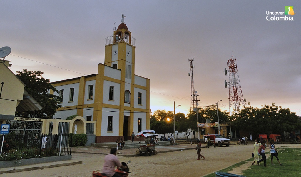 Downtown Uribia - La Guajira, Colombia