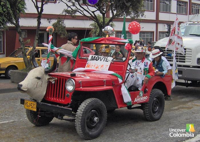 Parade in Manizales fair - Caldas, Colombia