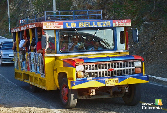 Local transport (Chiva) - Santa Marta, Colombia