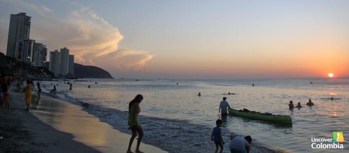 El Rodadero Beach - Santa Marta, Colombia