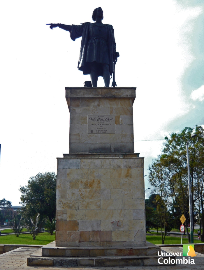 Tribute to Christopher Columbus - Bogota, Colombia
