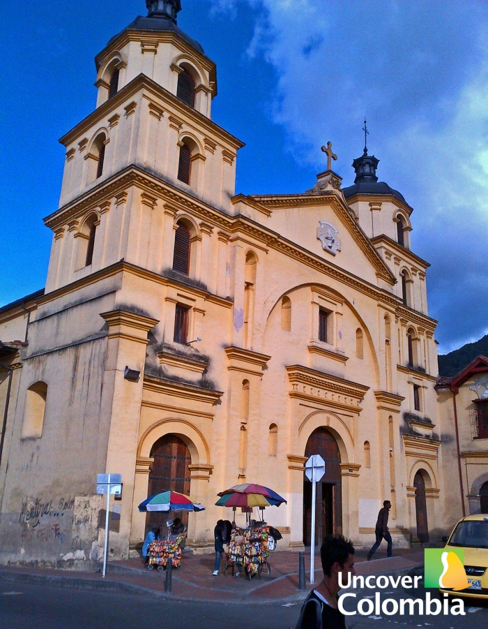 Iglesia La Candelaria - Bogota, Colombia