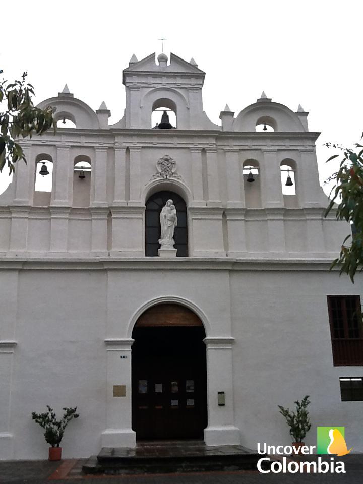 """Las Aguas"" church - Bogota, Colombia"