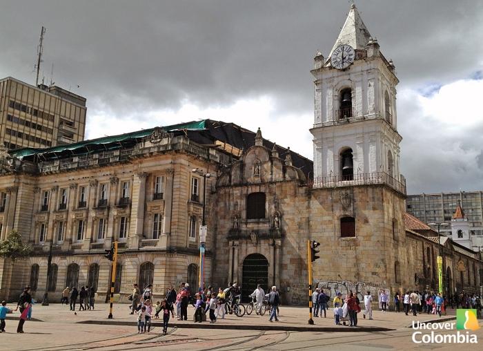 San Francis church - Bogota, Colombia