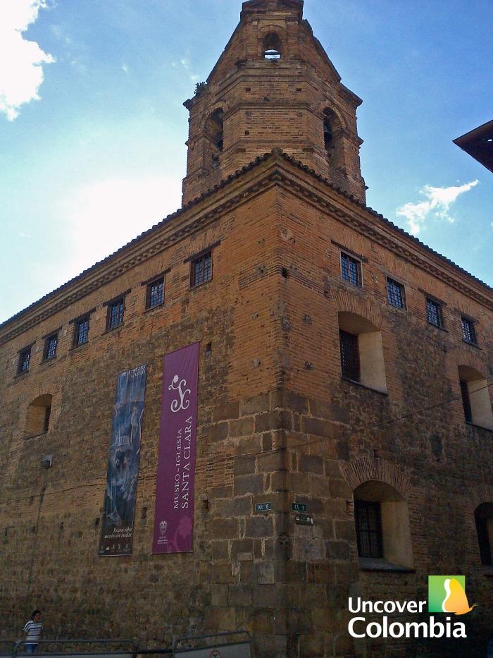 Museum church Santa Clara - Bogota, Colombia