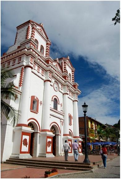 Plaza de Guatape Antioquia