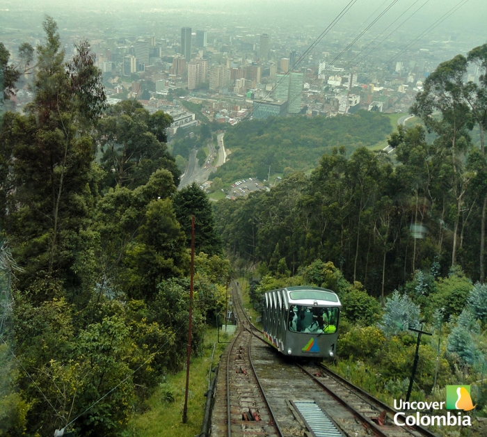 Way up to monserrate
