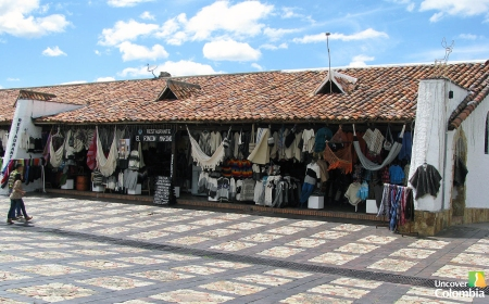 Guatavita - Handicrafts shops