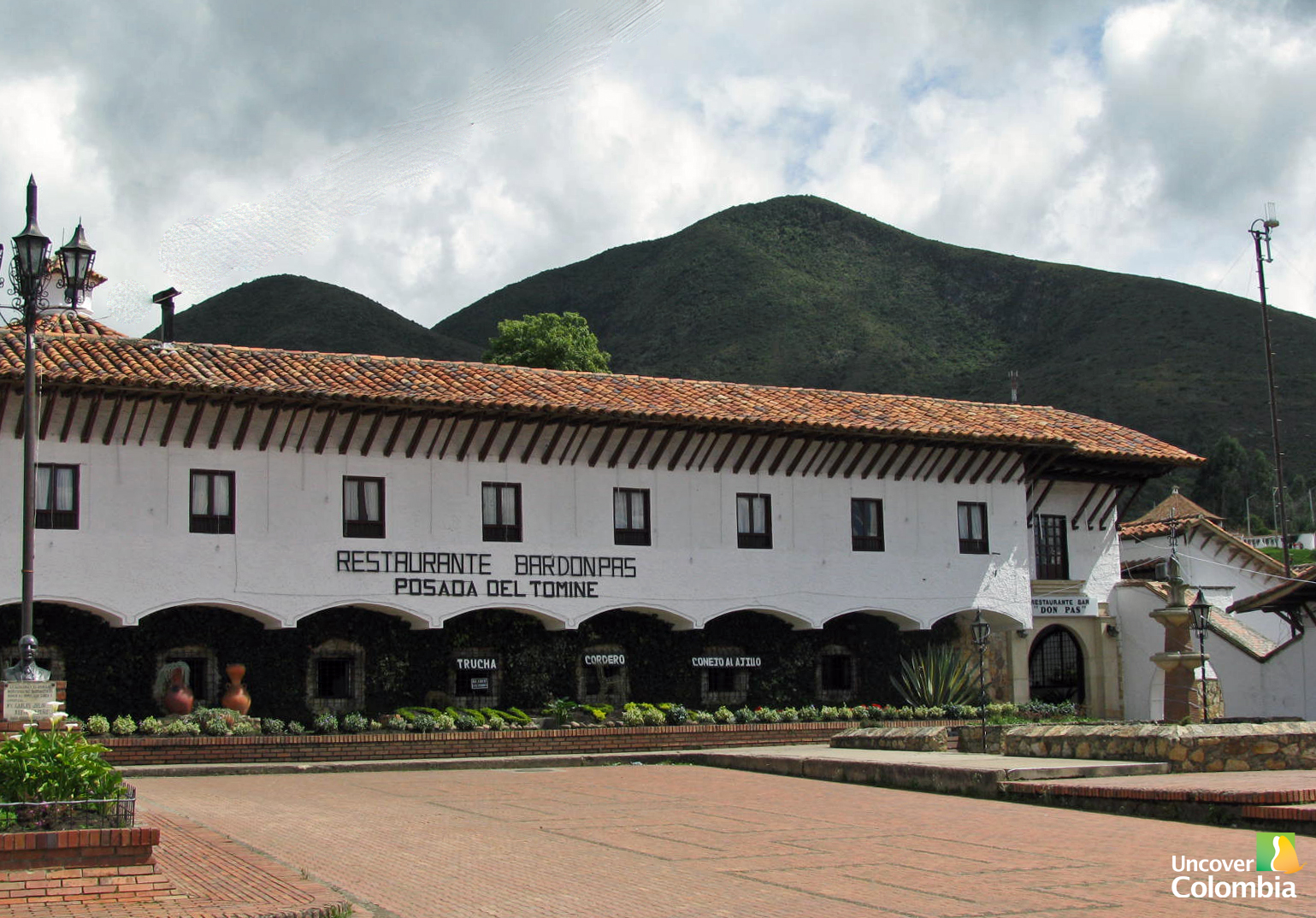 Guatavita - One of the popular restaurants and hotels in the town