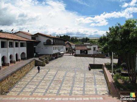 Guatavita - Main Pedestrian Street
