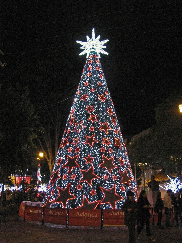 Christmas Tree - Usaquen Main Square