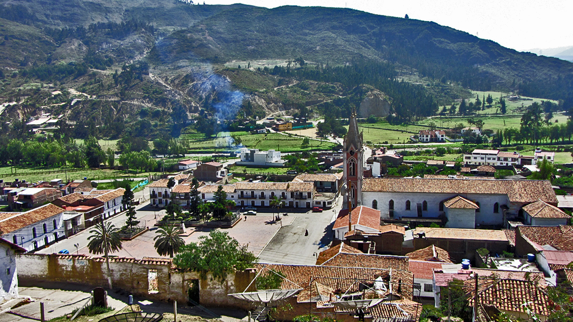 The Andean Landscape - A beautiful small town in Boyaca
