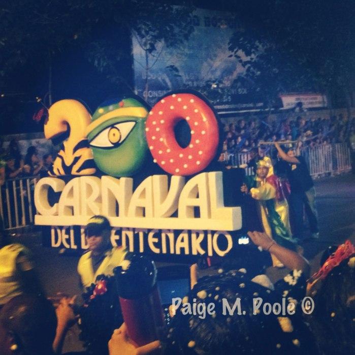 Beginning of la Guacherna parade 2013: Celebrating 200 Years of Carnival in Barranquilla