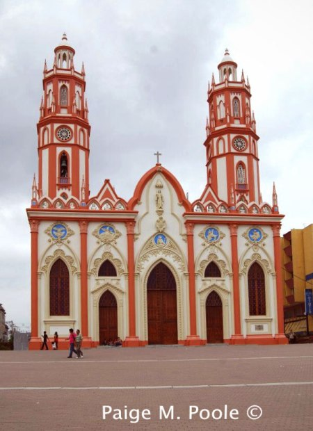 St. Nicholas Cathedral and Plaza in Barranquilla's city centre