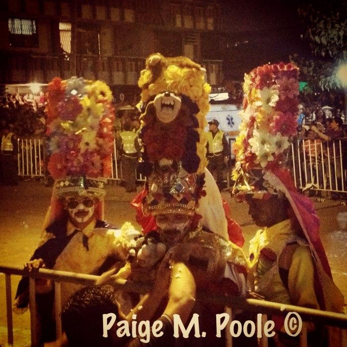 Congos in la Guacherna parade