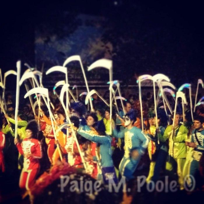 Garabato dancers in la Guacherna parade