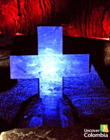 One of the Stations of the Cross. Zipaquira Salt Cathedral - Uncover Colombia