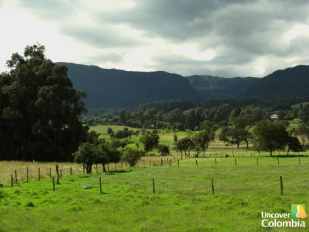 Zipaquira - Beautiful countryside view - Uncover Colombia