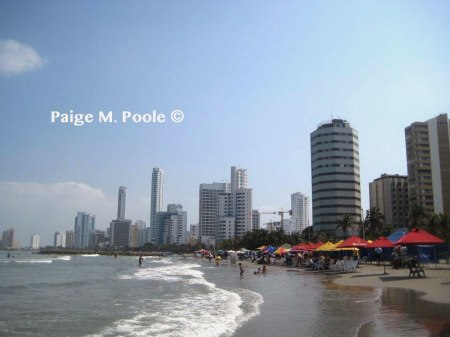 Bocagrande Beach in Cartagena