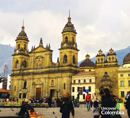 The Prime Cathedral in Bogota - One to avoid during Easter
