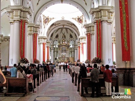 Basilica de la Virgen the Chiquinquira - Day trips from Bogota should be planned carefully