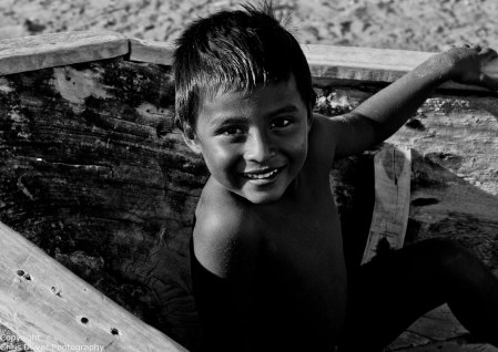 Wayuu Child in La Guajira - Copyright Chris Driver Photography