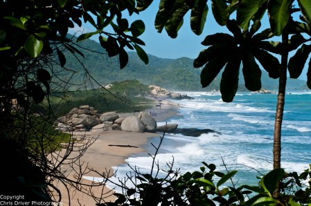 Tayrona National Park - Copyright Chris Driver Photography