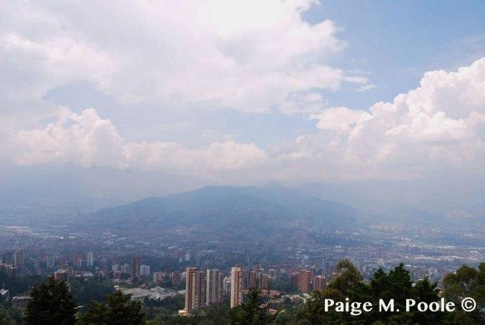 Overlooking Medellín
