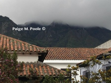 Mountains in Bogotá