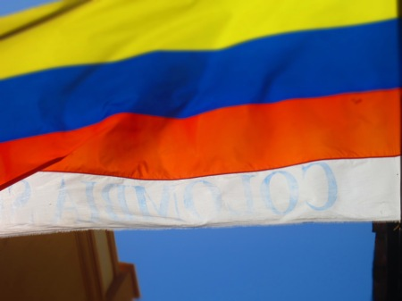 Colombian Flag - Copyright soulsofmyshoes.wordpress.com.
