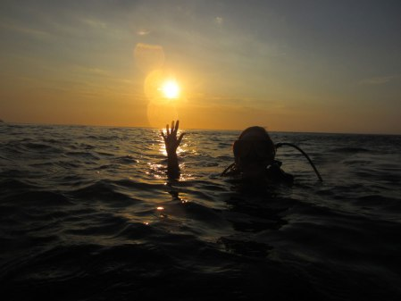 Scuba-diving at Taganga, near Santa Marta - Copyright soulsofmyshoes.wordpress.com.