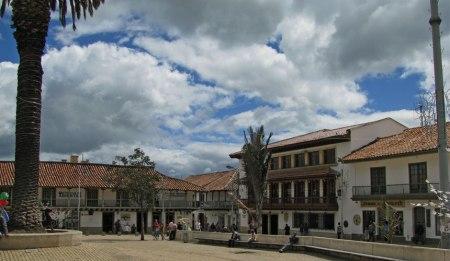 Main square - Town of Zipaquira