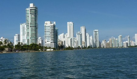 Cartagena Boca Grande area - Image courtesy of Mar Azul Adventures