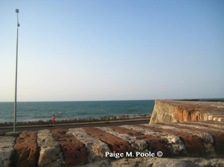 "View from the ""Walled City"" in Cartagena"