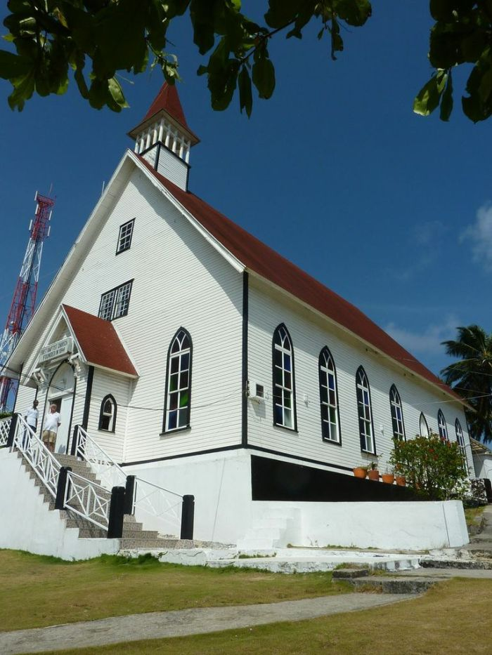 Baptist Church in San Andres - Image courtesy of Mar Azul Adventures