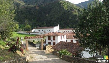 Monastery of La Candelaria near Raquira - Uncover Colombia