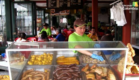 """""""Fritanga"""" restaurant in Sutamarchan - Uncover Colombia"""