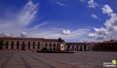 Tunja main square - Uncover Colombia