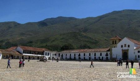 Villa de Leyva main square - Uncover Colombia