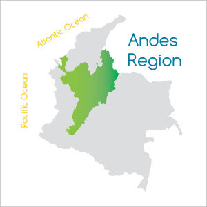 The Andes Region of Colombia