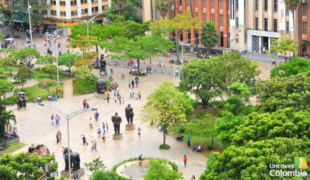 The eternal spring in Medellin
