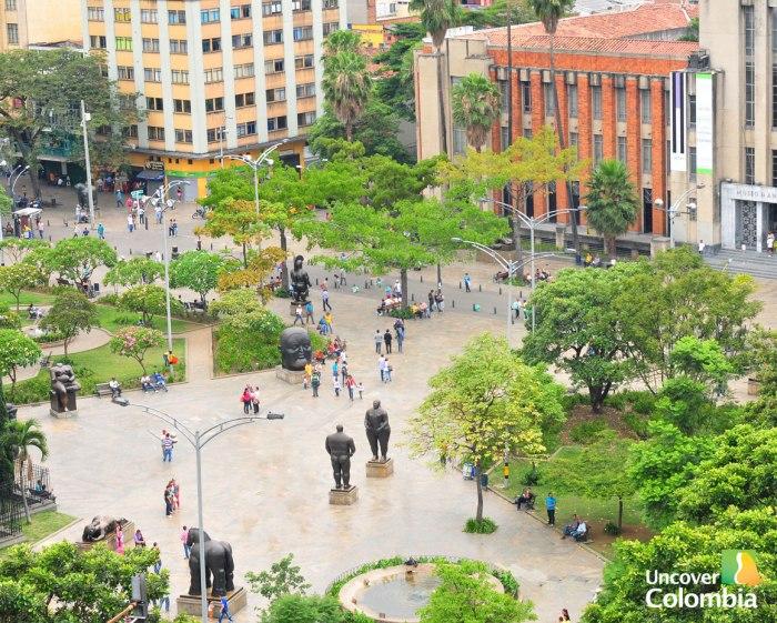 Plaza de Botero in Medellin